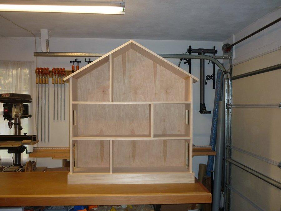 pottery barn dollhouse bookcase plans