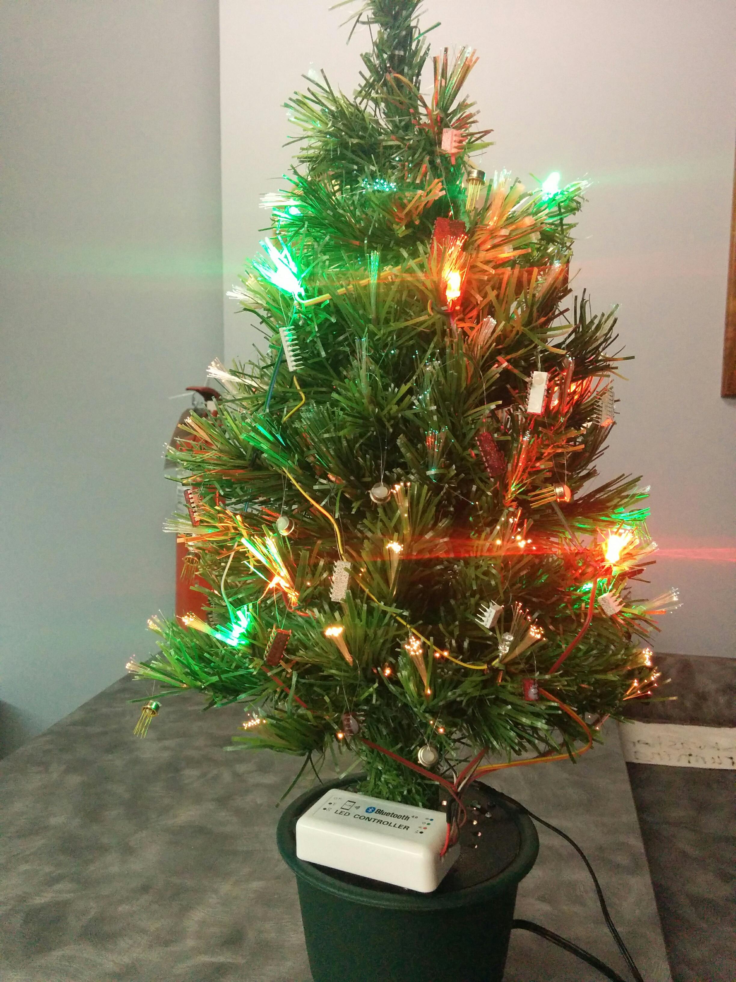 DIY LED Christmas tree | public_html